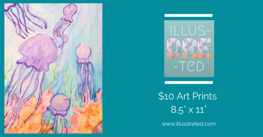 illusdreted, art print, guam, art